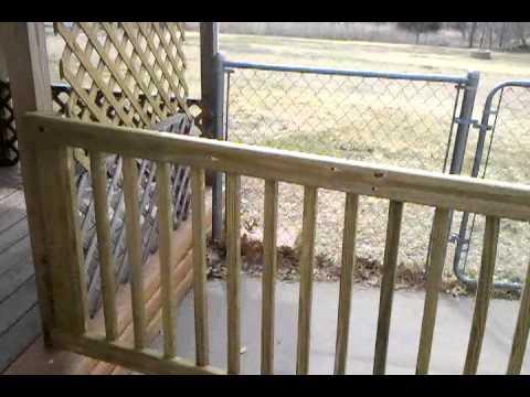 Deck gate - YouTube
