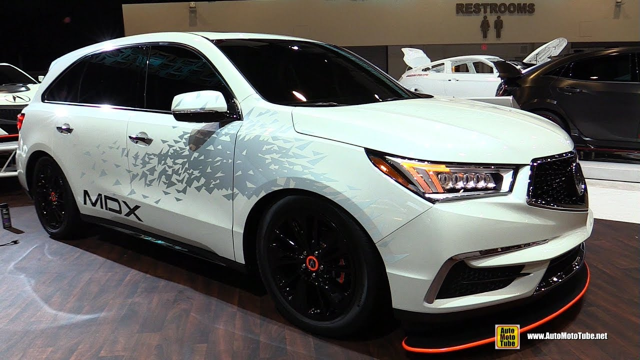 Acura MDX Towing Acura GT Exterior Walkaround SEMA - 2018 acura mdx hitch