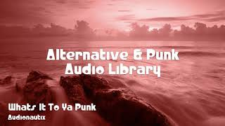 🎵 Whats It To Ya Punk - Audionautix 🎧 No Copyright Music 🎶 Alternative & Punk Music