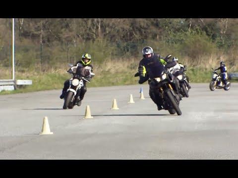 Sicherheitstraining: Motorradfahrer bereiten sich auf die Saison vor