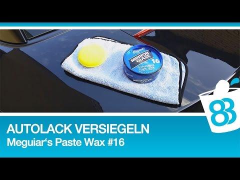 autolack versiegeln auto wachsen mit meguiars professional paste wax 16 83metoo youtube. Black Bedroom Furniture Sets. Home Design Ideas