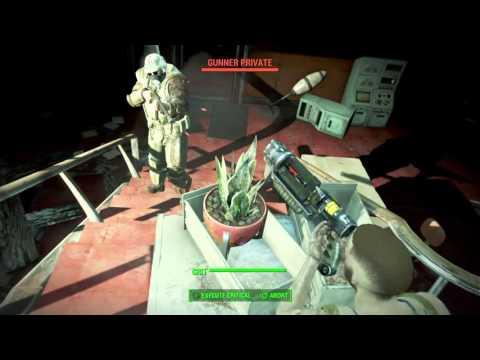 Fallout 4 part 25 kill a courer