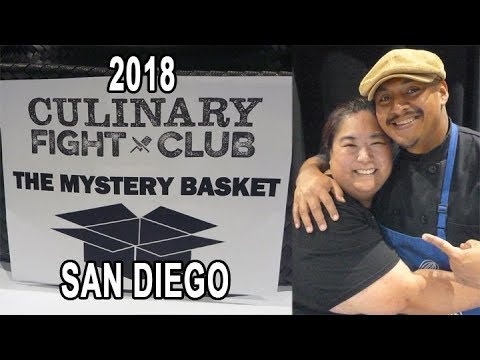 Culinary Fight Club 2018: Mystery Basket Competition - San Diego