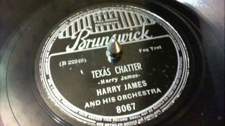 78 RPM: Harry James & his Orchestra - Texas Chatter