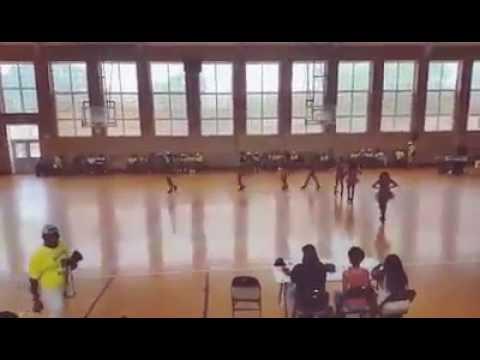 Anniston High School Dancers 2016. Band Camp  .
