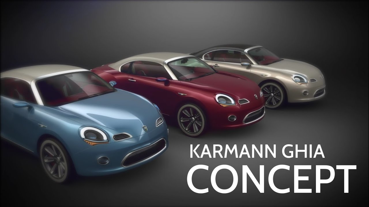 Karmann Ghia Coupe Concept By Renan Carlos Oliveira