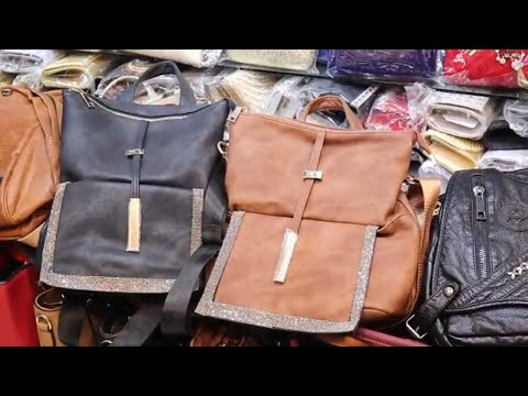 Ladies Bag Pack Huge Collection৷৷Bag Wholesale Market at Chadni Chawk৷৷