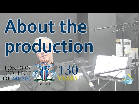 Musical Director for West Side Story - About the Production   LCM TV