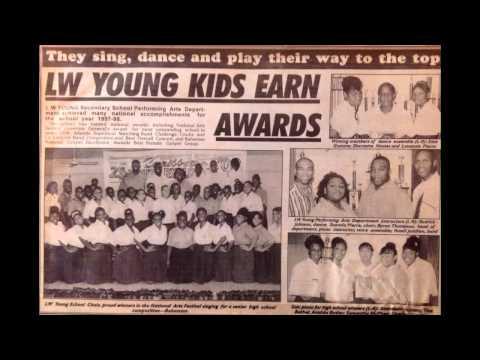 "LWY ""L's Golden Eagles"" "" LW Young Secondary School - Bahamas"