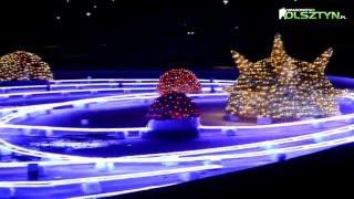 Iluminacja fontanny -Park Centralny w Olsztynie