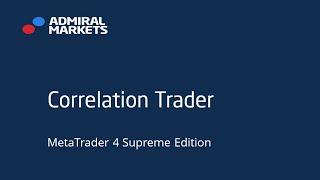 La corrélation entre les différentes paires de devises avec Admiral Correlation Trader