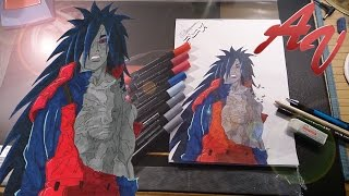 Madara Uchiha Speed Painting