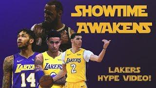 SHOWTIME AWAKENS : LAKERS MONTAGE (Star Wars  Trailer Parody)