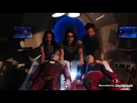Flash 3x17 Cisco vibe Mon El & Iris to Kara, berry