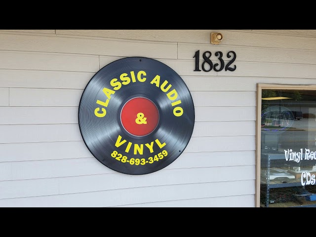 Classic Audio and Vinyl  Hendersonville NC ! Store Tour!