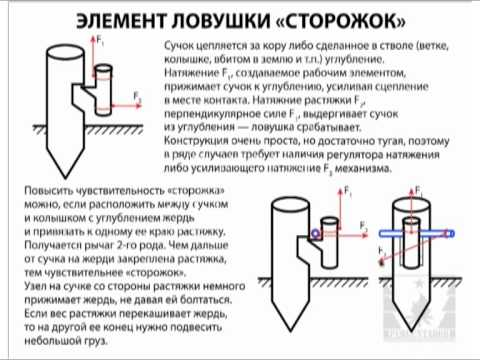Механические ловушки с