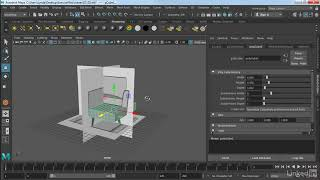 Model against reference | Maya 2018 Essential Training from LinkedIn Learning