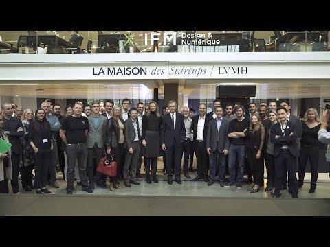 Inauguration of La Maison des Startups LVMH at STATION F