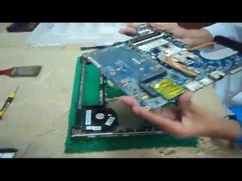 Desamblando y Ensamblando una Laptop HP Pavilion d4 2111la