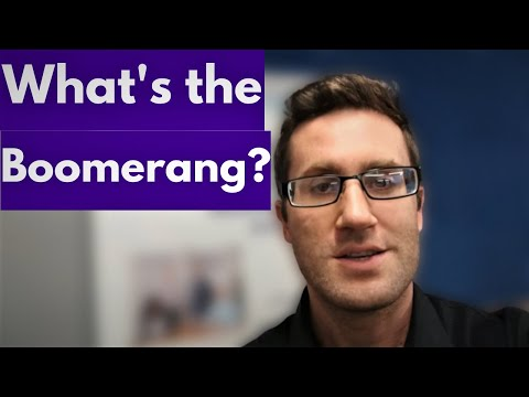 Cold Call Tip of the Week - The Boomerang! Let the Call to Action get away Before it Comes Back