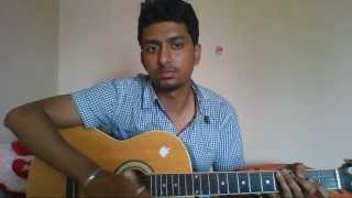 Hey Baby - Raja Rani Guitar Cover and Chords
