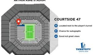 Arthur Ashe Stadium Seat Recommendations - The TicketCity Update Desk