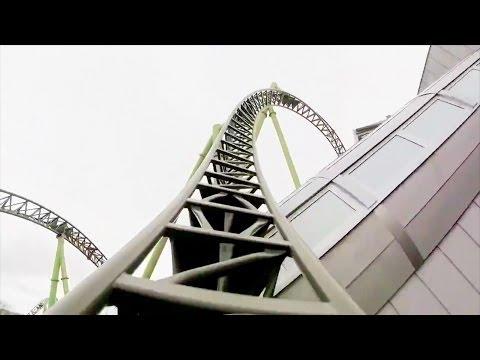 Helix Roller Coaster POV -  Liseberg 2014