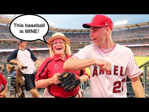 WATCH OUT for this usher when Shohei Ohtani bats at Angel Stadium