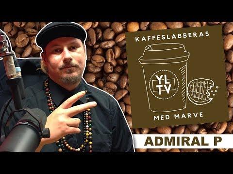 Admiral P | Kaffeslabberas med Marve - 007 [PODCAST]: YLTV
