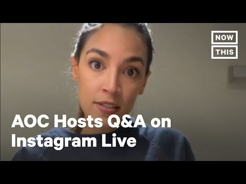 Alexandria Ocasio-Cortez Hosts Cooking Q&A on Instagram Live | NowThis