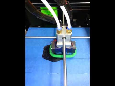 3D printing robot parts at FabLab Zurich
