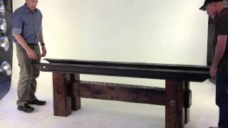 Wrong Side Of The Tracks Conference Table Assembly