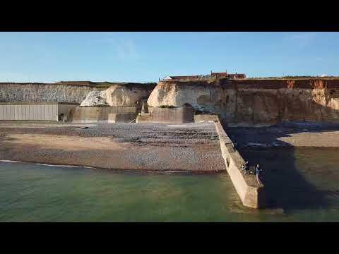 Peacehaven England Cliffs