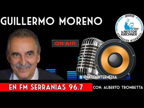 Guillermo Moreno Con Alberto Trombetta 18/01/20