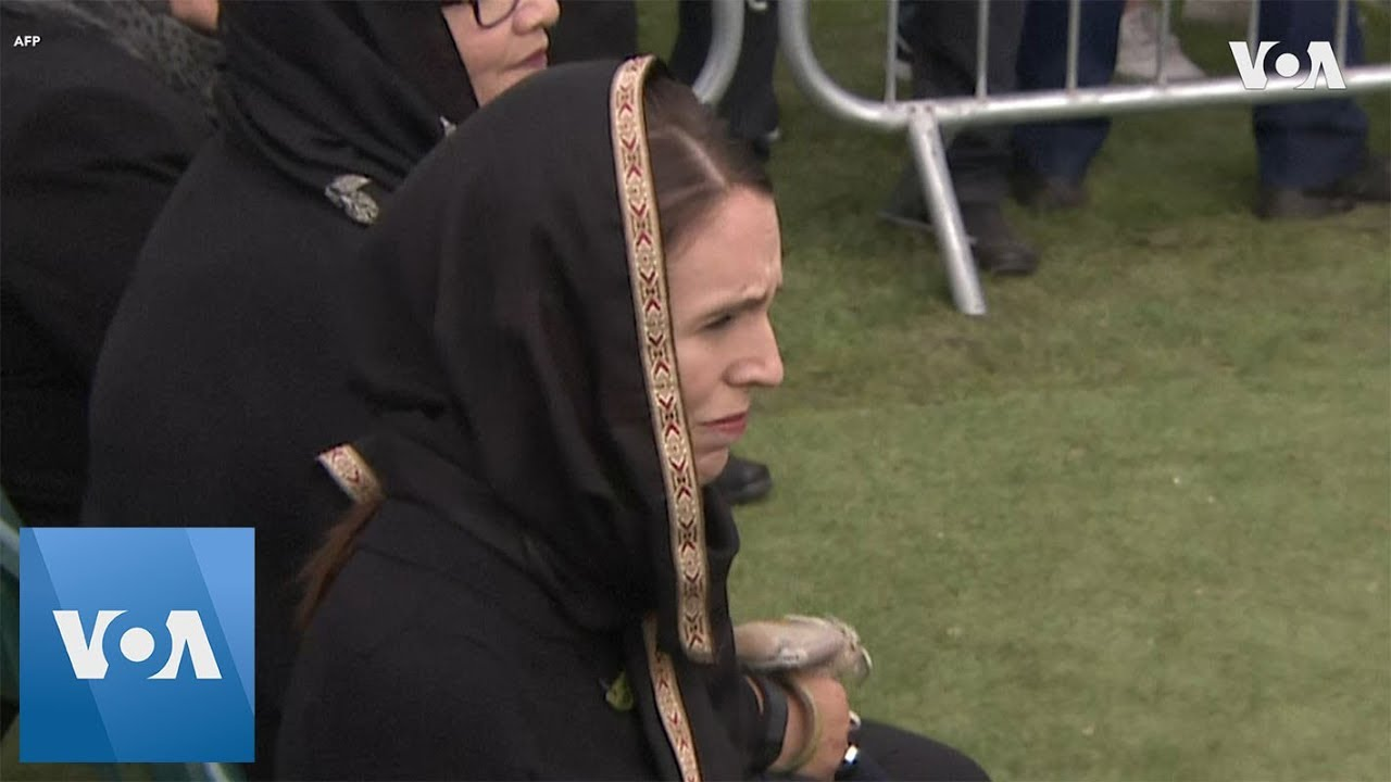 New Zealand PM Ardern Attends Friday Prayers Commemorating Christchurch Victims
