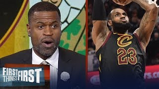 Stephen Jackson on why he expects LeBron to be 'legendary' vs Celtics | NBA | FIRST THINGS FIRST