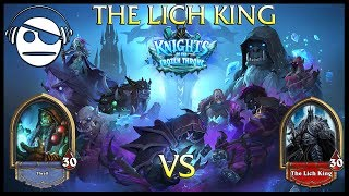 Hearthstone | Knights of the Frozen Throne | The Lich King Vs Shaman