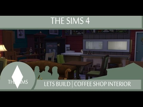 The Sims 4 | Lets Build | Coffee Shop Interior