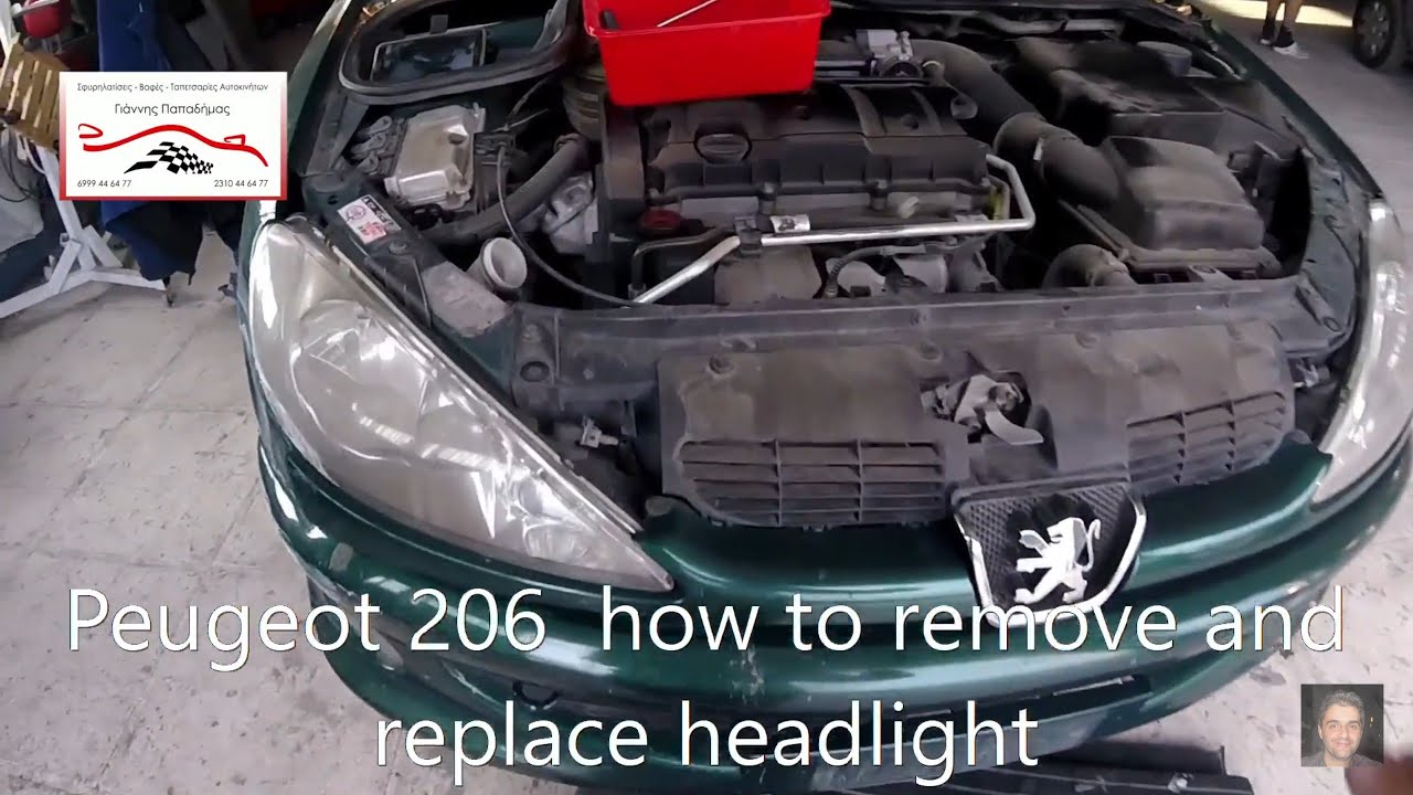 PEUGEOT 206 1998-2007 Headlight Headlamp Mounting Panel LH Left Passenger