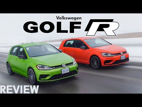 2018 VW Golf R Review Manual vs DSG