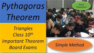 Learn Pythagoras Theorem - Class 10th Math Video Tutorial