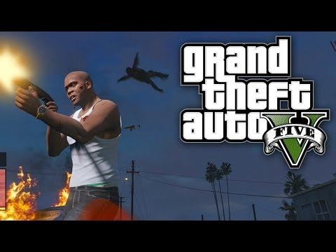 GTA 5 FUN WITH CHEATS - MILITARY MAYHEM! (GTA V Cheat Codes)
