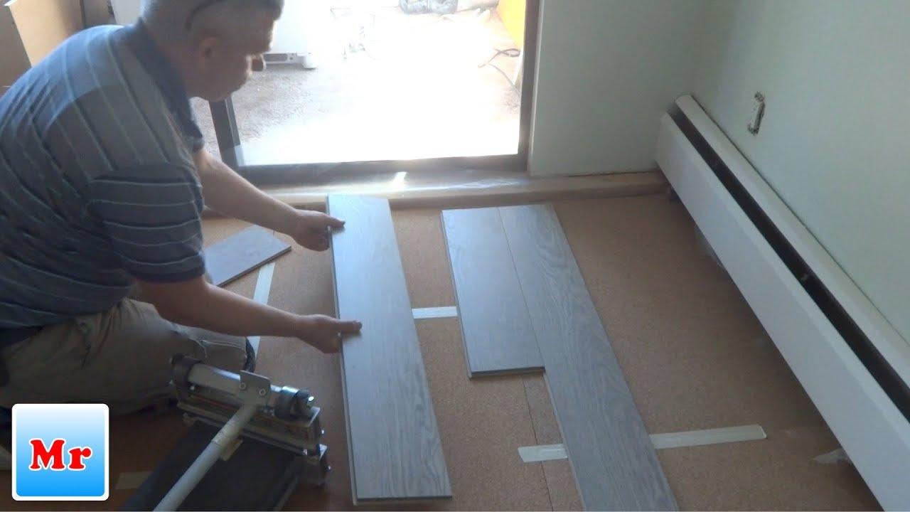 How To Start Laminate Flooring, How To Start Lay Laminate Flooring