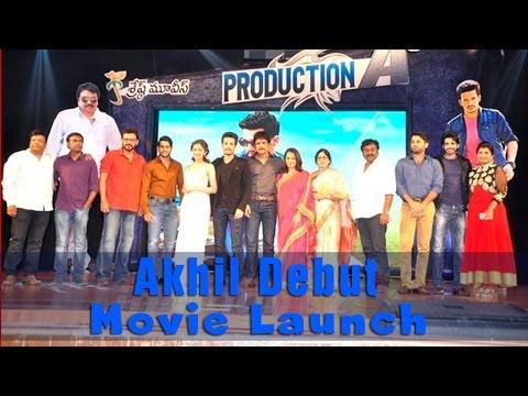 Akhil Akkineni's Debut Movie Launch