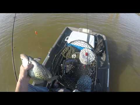 Crappie Fishing, Sardis Lake, MS