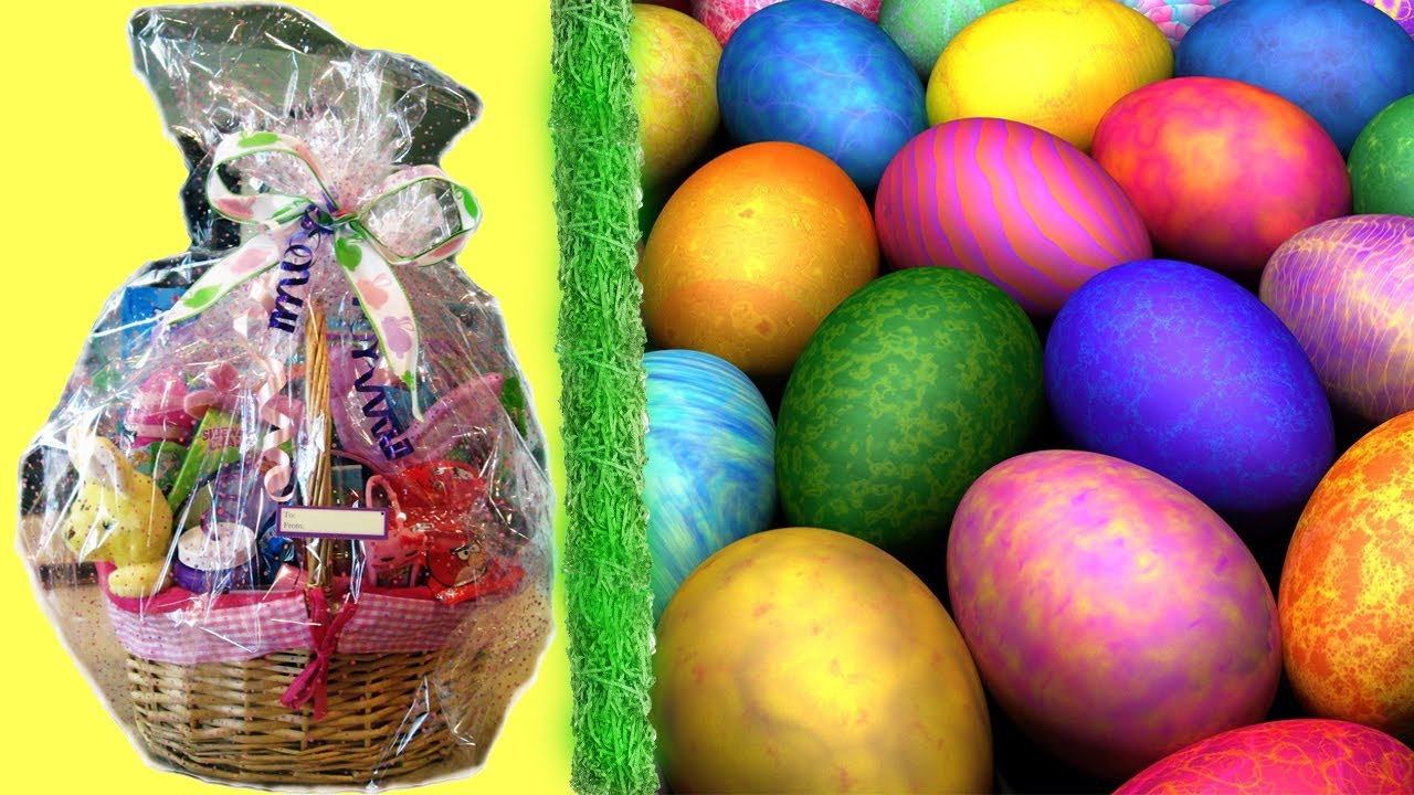 Diy little girlsboys easter basket youtube negle Images