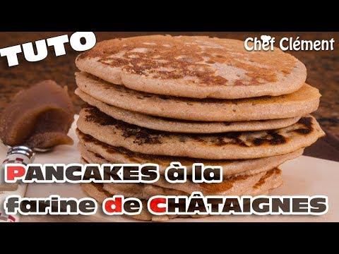 recette-sans-gluten-:-pancakes-à-la-farine-de-chÂtaignes---chef-clément