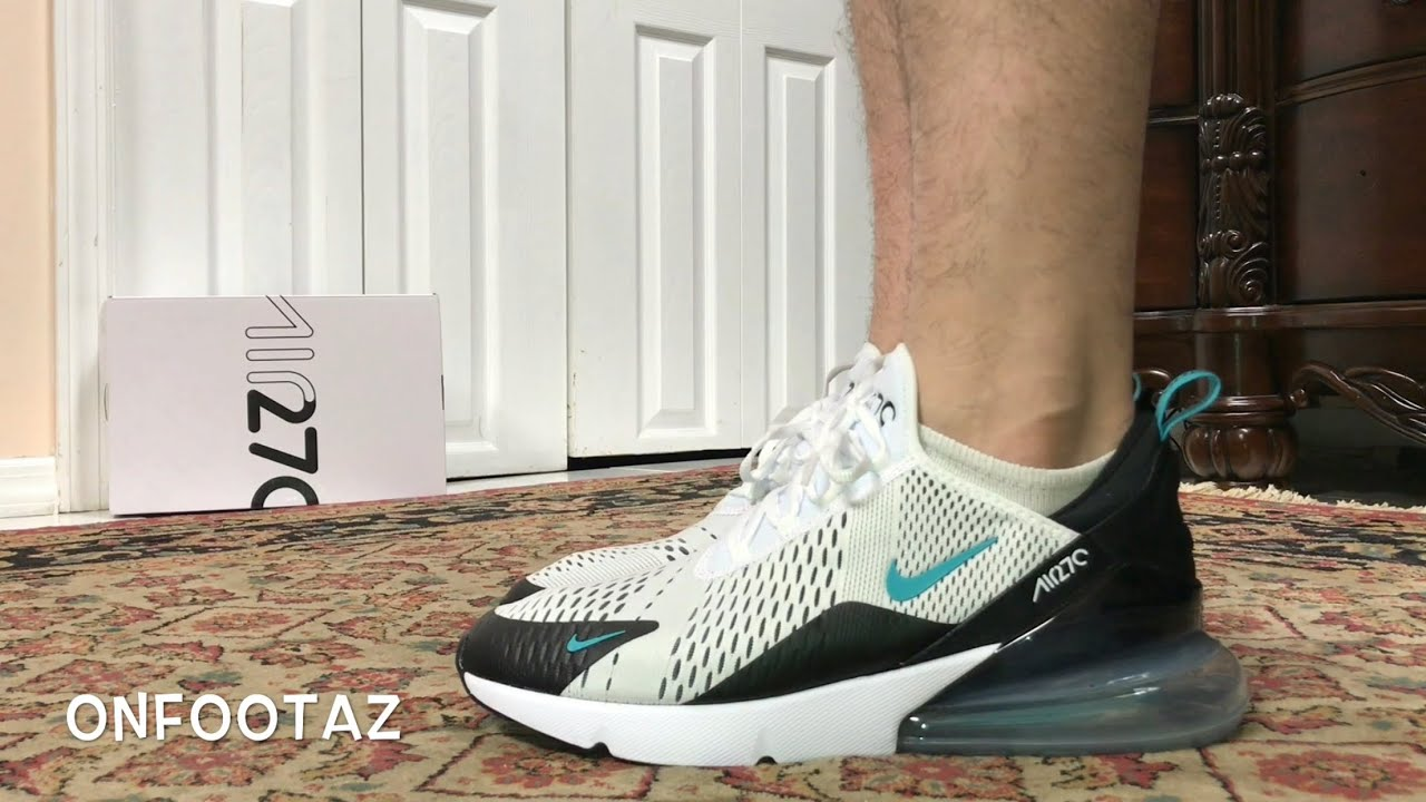 info for 70947 3dc71 Nike Air Max 270 Dusty Cactus On Foot - YouTube
