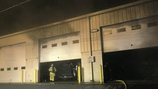 Responding and Pre-Arrival to a working structure fire, Ride with Newsworking
