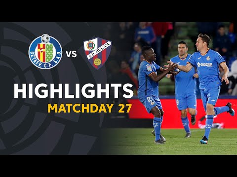 Highlights Getafe CF vs SD Huesca (2-1)